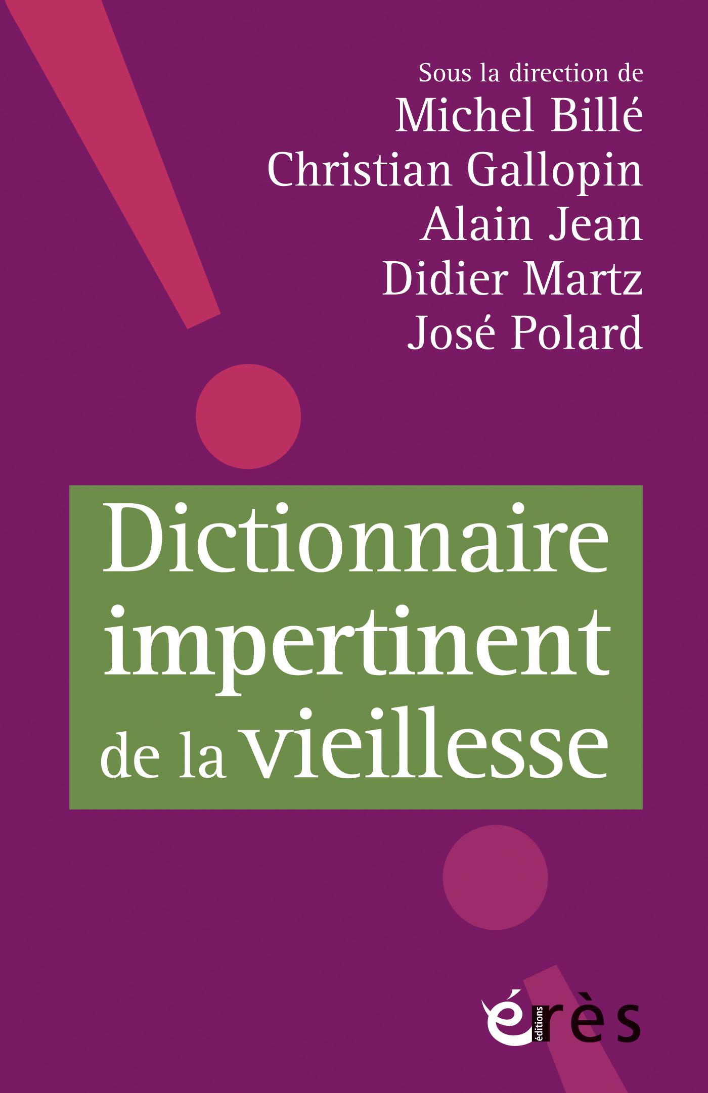 """Résultat de recherche d'images pour """"ERES Dictionnaire impertinent de la vieillesse"""""""