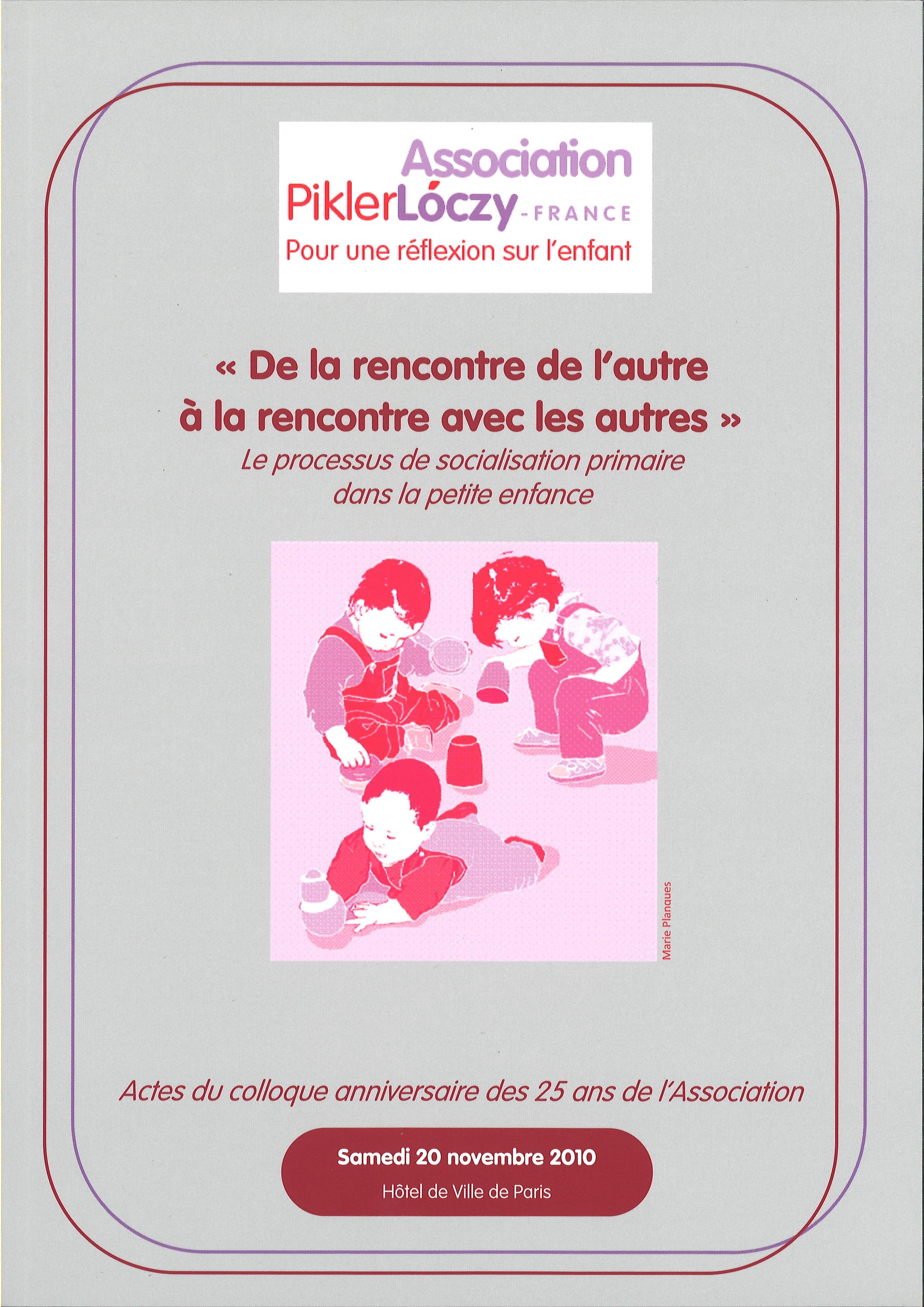 Enfance + Culture = Socialisation